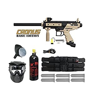 1. Tippmann Cronus Basic Semi-Automatic .68 Caliber Paintball Marker