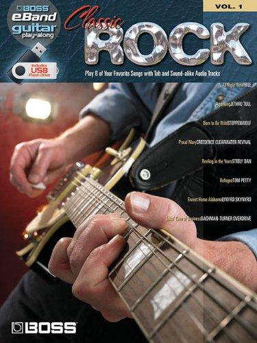 Classic Rock: Boss eBand Guitar Play-Along Volume 1 PDF