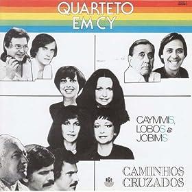Amazon.com: Caminhos Cruzados (Caymmis, Lobos & Jobins): Quarteto Em