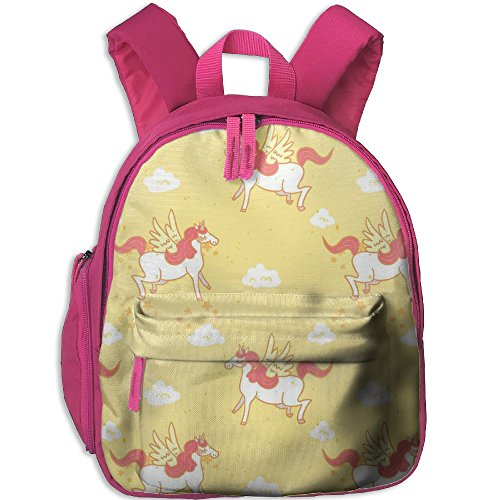 Little Girls Boys Funny Waterproof Toddler Backpack With Adjustable Shoulder Straps Unicorn Printed Snack Backpack Gift For Children In Pre School Or Kindergarten