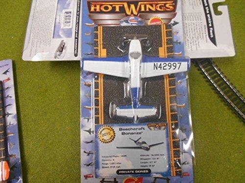 - HO Scale: Hot Wings # HW13112 Beechcraft Bonanza V-35 Diecast Model Airplane ^G#fbhre-h4 8rdsf-tg1367098