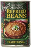 Amy's Vegetarian Organic Refried Beans, Traditional, 15.4 Ounce (Pack of 6)