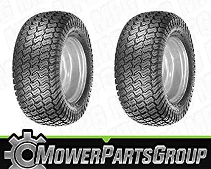 Amazon.com: D036 (2) neumáticos 18 x 9.50 – 8 4 capas Turf ...