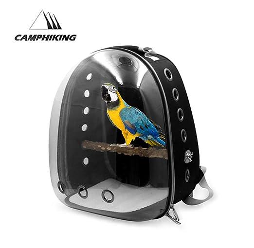 Portador De Aves, Jaula De Viaje Para Aves Mochila De Transporte ...