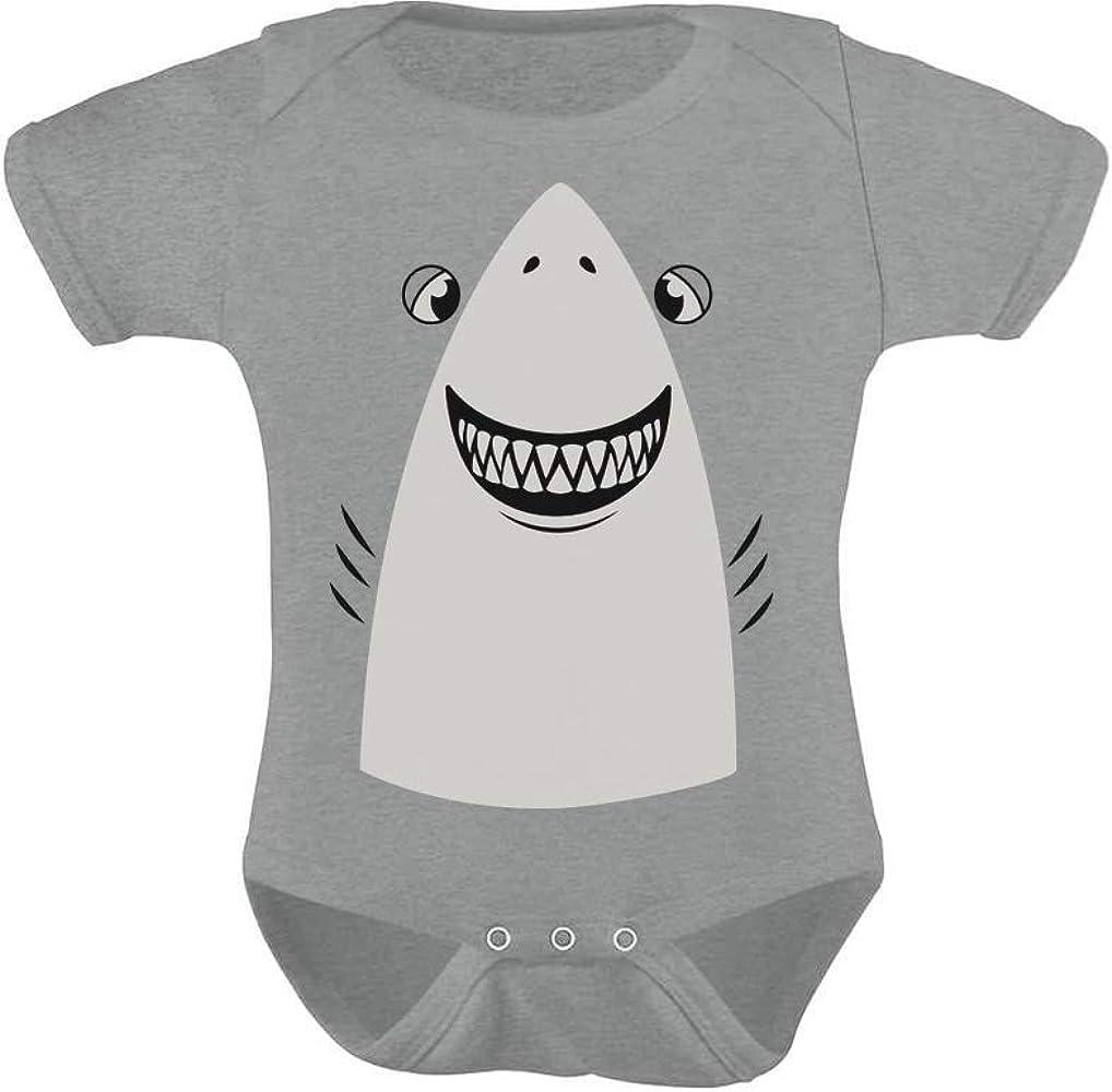 Great White Shark Easy Halloween Costume Cute Baby Bodysuit Gift