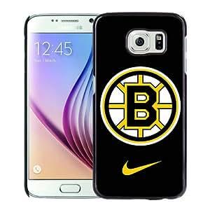 Samsung Galaxy S6 Case ,boston bruins Black Unique And Beautiful Custom Designed Phone Case