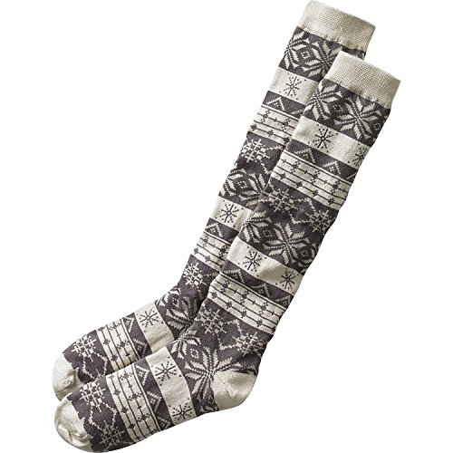 Legendary Whitetails Ladies Glistening Pines Boot Socks Frost Gray