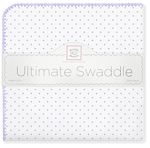 SwaddleDesigns Ultimate Swaddle Blanket Lavender