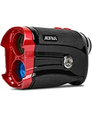AOFAR GX-2S Golf Rangefinder Slope Switch, Flag-Lock with Vibration, 600 Yards Range Finder, 6X 25mm Waterproof, Carrying Case, Free Battery, Gift Packaging