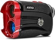 AOFAR GX-2S Golf Rangefinder Slope Switch, Flag-Lock with Vibration, 600 Yards Range Finder, 6X 25mm Waterproo
