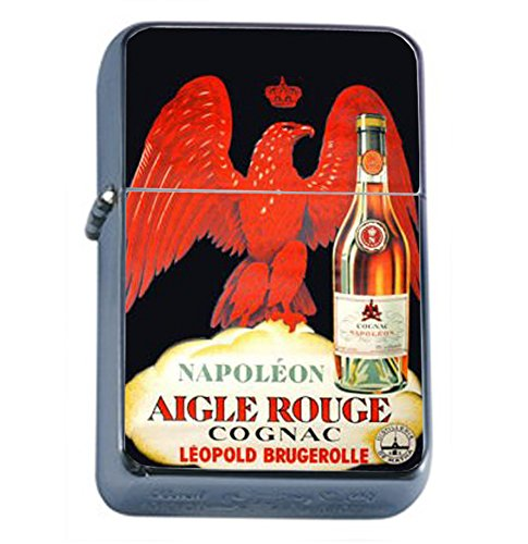 Cognac Napoleon Vintage Poster Oil Lighter D-099 ()