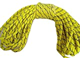 1/2'' By 125' Arborist Rigging Rope, Yellow