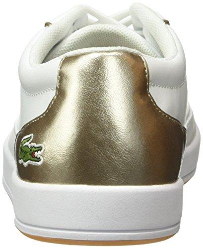 Lacoste Lyonella Lace 316 3 - Zapatillas Mujer Blanco - Weiß (Wht 001)