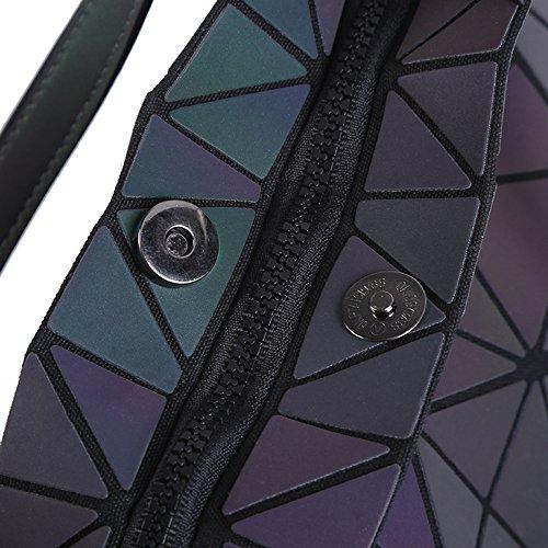 Luminous Lingge Desmontable Hombro Hombro maletín Small FZHLY de Desmontable Hombro Diagonal de Lady Bolso Bolso Bolsa de de vxHRa