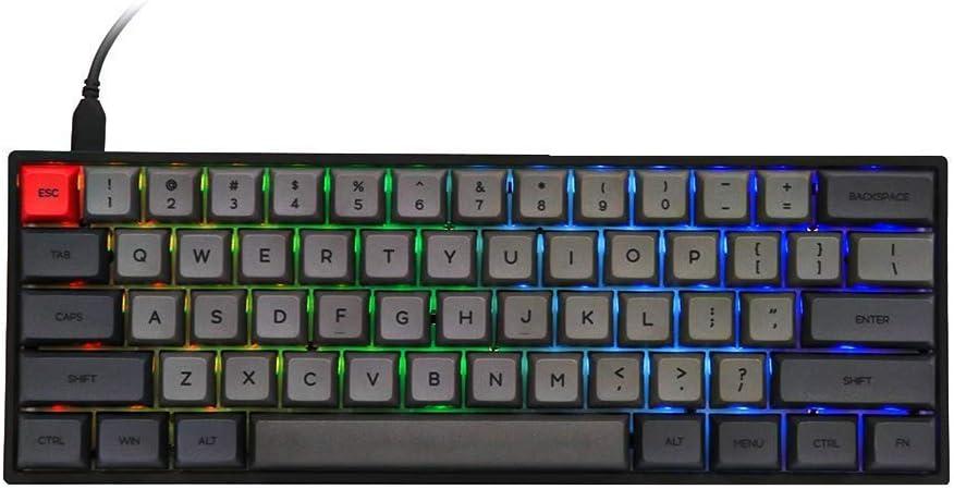 Skyloong SK61 Black Hot-Swap RGB 60% Mechanical Keyboard