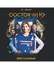 Doctor Who 2022 Calendar: Perfect Mini Calendar 2022 16-month from September 2021 to December 2022 in mini size 7x7 inch