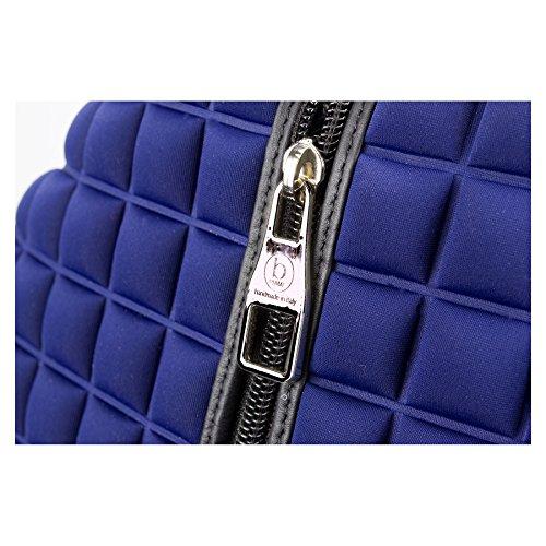 Bleu à au Sac CUBE 28 ZAINO bPRIME dos 12 34 porté pour main femme qgOHn