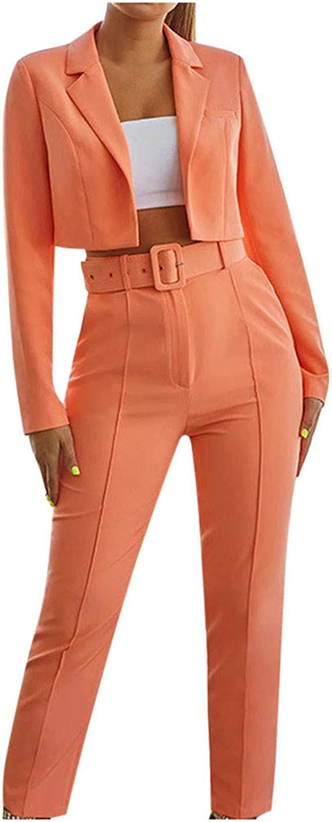 Damen 2 Stück Set Mode Einfarbiger Pullover Kurzer Rock Anzug Set Herbst