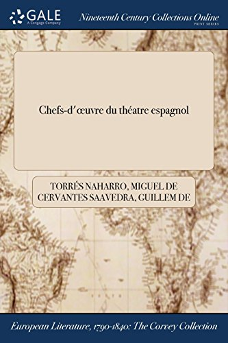 Chefs-d'œuvre du théatre espagnol (French Edition)