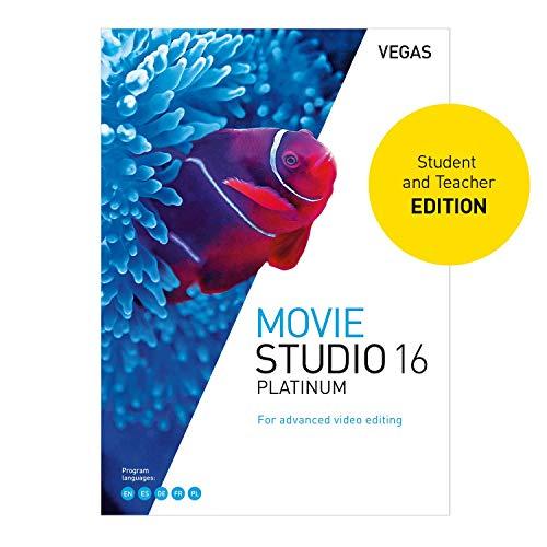 VEGAS Movie Studio 16 Platinum [PC Download] (Vegas Movie Studio Platinum 10)