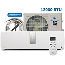 12000 Btu (1 Ton) 17.9 SEER Ductless Mini Split Air Conditioner Heat Pump. 15 Feet Kit and 115 V