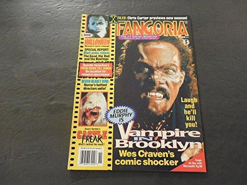 Fangoria #148 Nov 1995 Halloween; Vampire In Brooklyn; X-Files Preview -