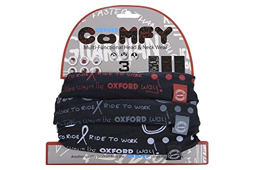 Confezione Oxford 3 nero Grafitti Da Nero Comodo arancio rosso Mono waq1qERW7