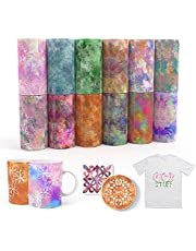 """Specut infusible Transfer Ink Sheets 12pcs/Set, 4.5""""x12"""""""