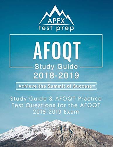 AFOQT Study Guide 2018-2019: Study Guide & AFOQT Practice Test Questions for the AFOQT 2018-2019 Exam