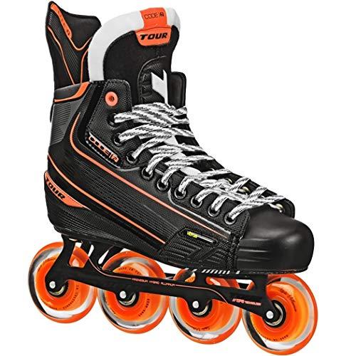 Tour Code 2 Senior Inline Hockey Skates Size: 10 Black ()