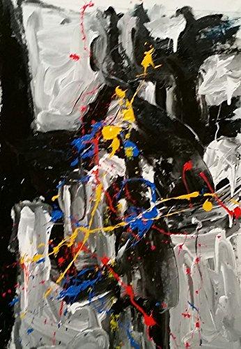 Franz Kline, Francis Bacon, Jackson Pollock #2