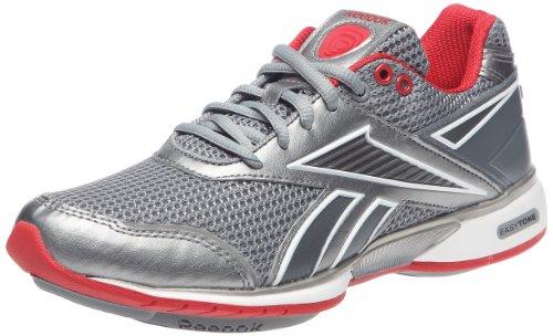 Reebok Sneakers Easytone Reecommit Flat Gris/Rouge/Blanc