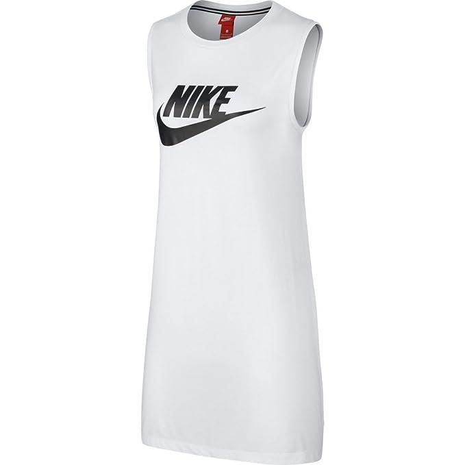es Y Blanco Nike Vestido Ropa Accesorios Sportswear Mujer Amazon Wgg1Xqn