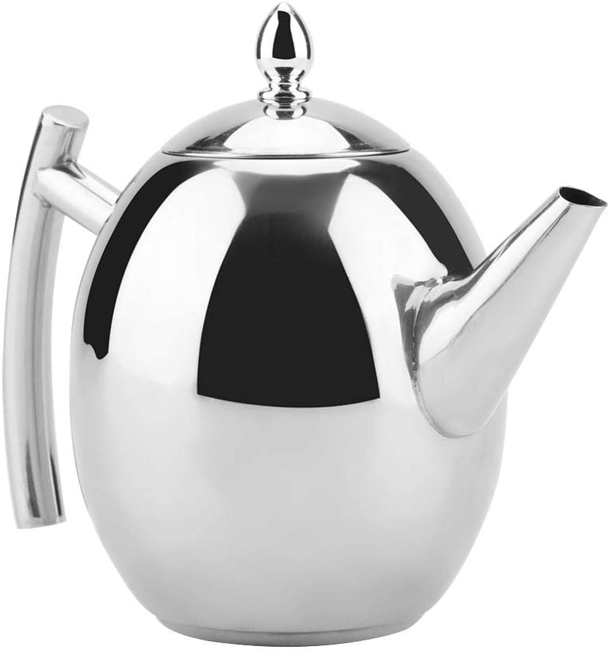 Tetera de acero inoxidable, té, café, caldera de agua, contenedor ...