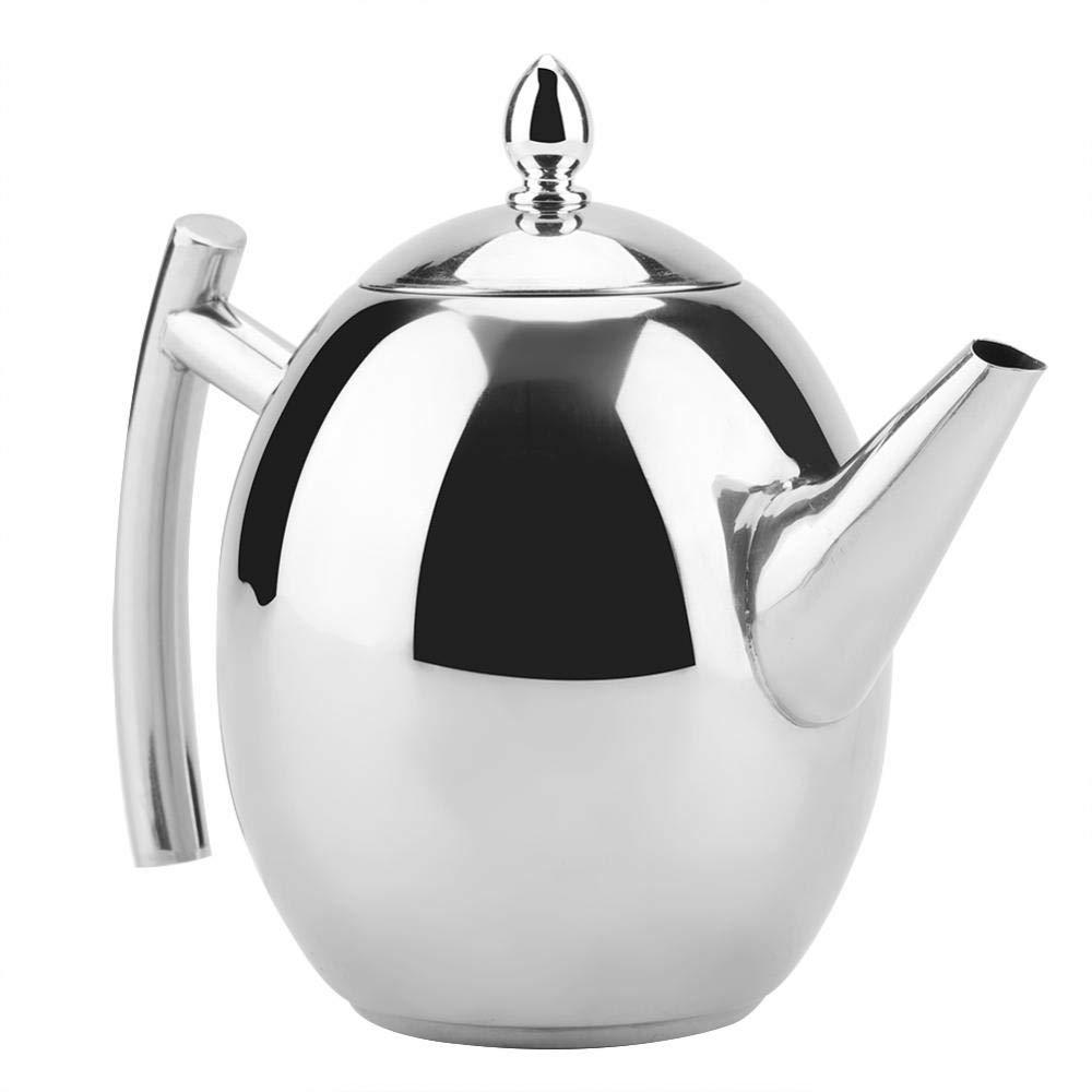 filtro malla extra/íble 1000ML contenedor con Tetera de acero inoxidable caldera de agua caf/é t/é
