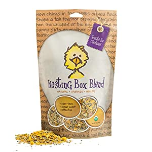 Treats For Chickens Certified Organic Nesting Box Blend, Herbal Bedding, 5Oz Bag 32