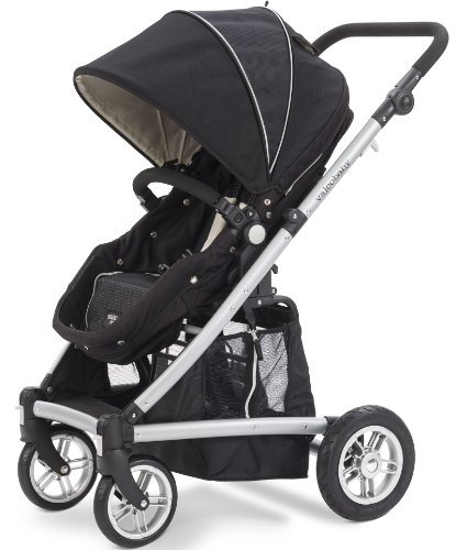 Valco Baby Spark Stroller, Black, Newborn and Beyond (Discontinued by Manufacturer) by Valco Baby - Newborn Valco Baby Stroller