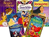 Disney Princess: Sleeping Beauty, Snow White and the Seven Dwarfs, Beauty and the Beast, Pocahontas, the Little Mermaid