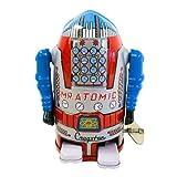 robot and bluebird - Vintage Style Silver Mr Cragstan 4