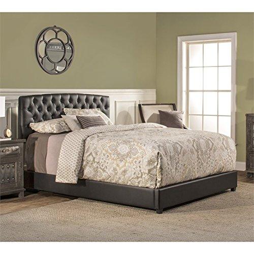 (Hillsdale Furniture 1952BCKR Hillsdale Hawthorne California King Bed Set, Black)