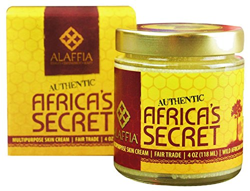 Alaffia Africa's Secret Multipurpose Skin Cream 1 100% FAIR TRADE: Feel good about how you are getting your products with 100% Certified Fair Trade Ingredients. WHOLE, NATURAL INGREDIENTS: This cream is a blend of pure, whole ingredients that give your skin the best moisturizing and protective benefits without any added emulsifiers, preservatives or scents. MULTIPURPOSE FOR EVERYONE: Ideal for really dry skin, environmental protection, as a night cream and for treating scars & skin discolorations.