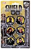 Marvel Heroclix Nick Fury Agent Shield Dice & Token Pack by WizKids