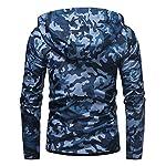 Veste à Capuche Homme Manches Longues Full Zip Manteau Nouveau Camo Imprimer Poches Hoodie Homme Hoodie Classic Fashion… 7
