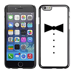 Stuss Case / Funda Carcasa protectora - MINIMALISTA SMOKING BOWTIE - iPhone 6