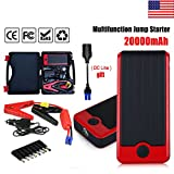 Marketworldcup 20000mAh Portable Car Jump Starter Vehicle Booster Battery Charger Power Bank