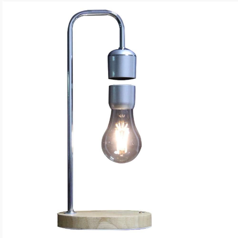 Micro Lámpara de mesa con Luz de la noche Bombilla flotante Tubo ...