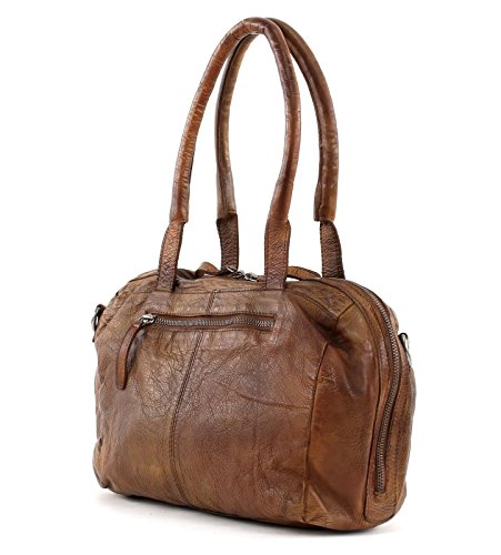 31 FREDsBRUDER Freebie Handbag cm leather Brown OwUvq