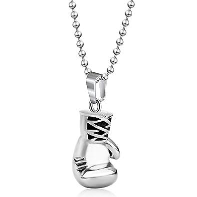 8101866227 Impression 1 PCS Collar Guantes de boxeo forma collar Elegante Collar  Encantador Collar Accesorios de Joyería Para Niñas Collar Elegante Joyería  de Moda ...