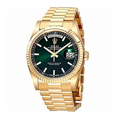 Rolex Day Date Champagne Dial Automatic 18K Yellow Gold Automatic Watch 118238GNSP by Rolex