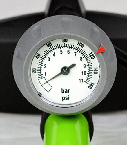 1fb6bd9a0f9 AerGun X-1000 Bike Pump – Unique AerTight Pump Head for EASIEST use with  both